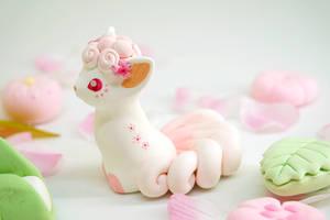 Sakura Vulpix by Ailinn-Lein