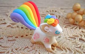 Rainbow Vulpix by Ailinn-Lein