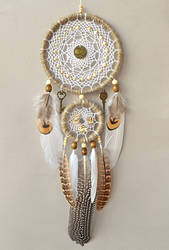 White Bird's treasure Dreamcatcher