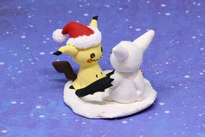 Christmas Mimikyu by Ailinn-Lein