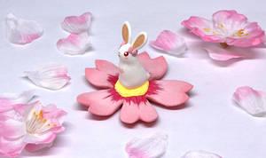 Tiny Floral Rabbit