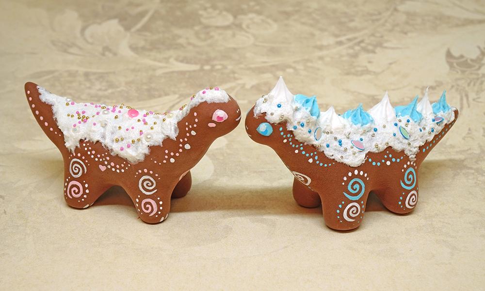 Cake Dinosaurs by Ailinn-Lein