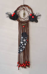 Red Berry Mystic Dreamcatcher