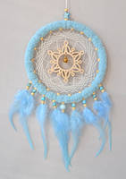Blue Snowflake Dreamcatcher