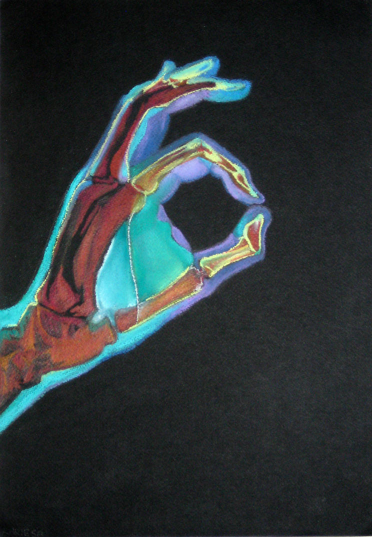 COLOURED x-ray handdd by reecekikluvloot
