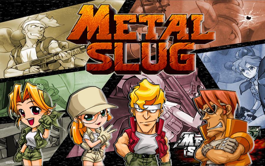 Wallpaper Metal Slug by TheLordJoker on DeviantArt