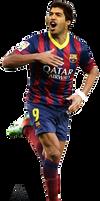 Luis Suarez FCBarcelona (Render)