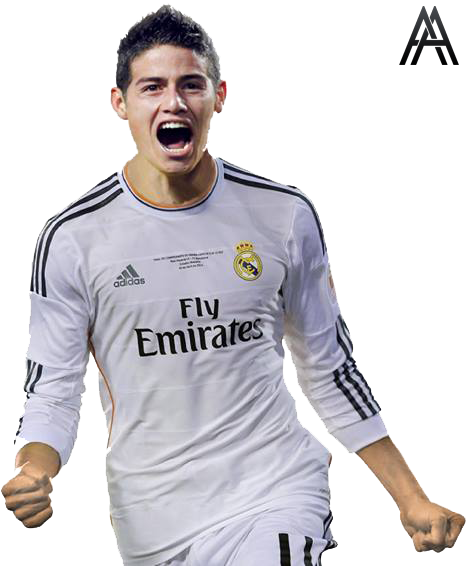 James Rodriguez Render Real Madrid By Ali Khateeb Gfx On Deviantart