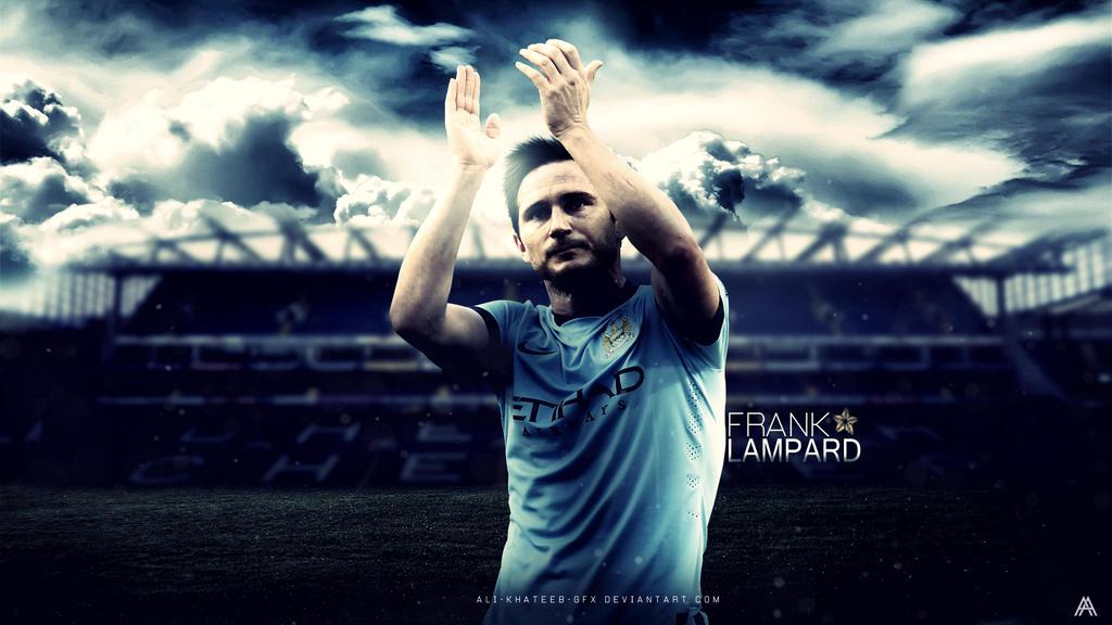 Frank Lampard HD Wallpaper (ManCity) By Ali-Khateeb-gfx On