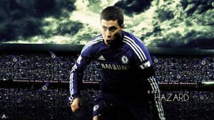 Eden Hazard HD Wallpaper (Chelsea F.C.)