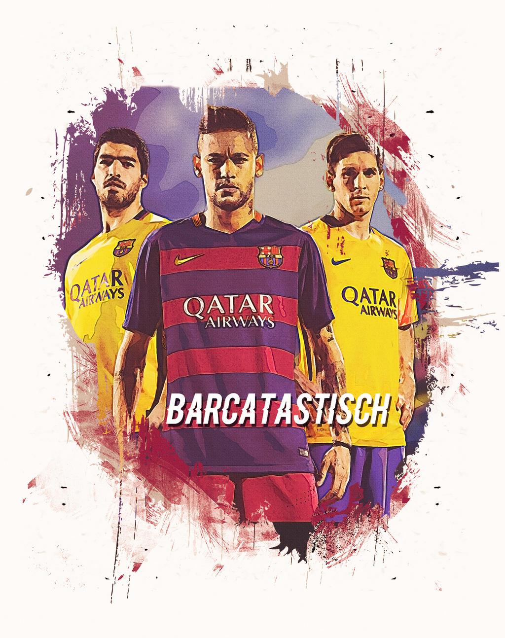 FC Barcelona 2016 Artwork MSN By Reher Design