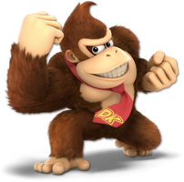 Super Smash Bros. Ultimate - 02. Donkey Kong by pokemonabsol