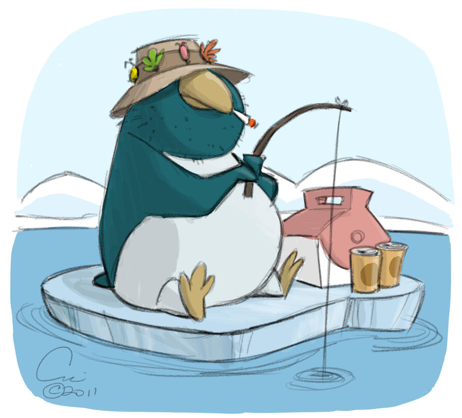 Ice Fishing by cedricstudio