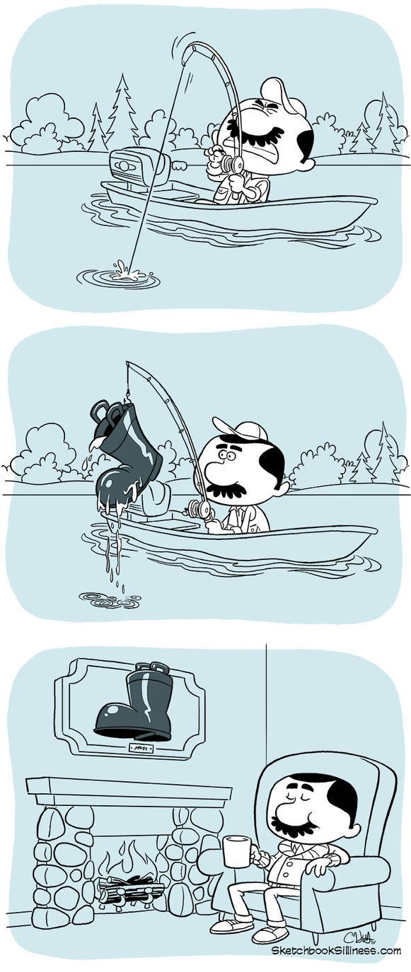 Fishing by cedricstudio