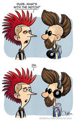 Mohawk by cedricstudio