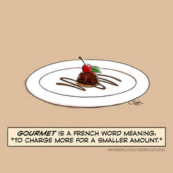 Gourmet by cedricstudio