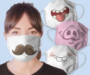 Silly Cartoon Masks