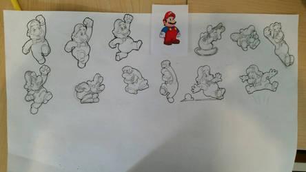 Super Mario Poses