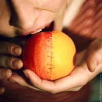 sinaasappel-apfelsine by s27w