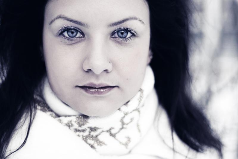 Winter portrait of Innes by s27w