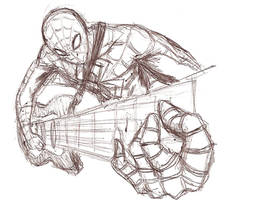 Spiderman Rocks by silverfox17x