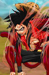 SS Gear 4 Luffy Colored