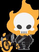 Lil Ghost Rider by silverfox17x
