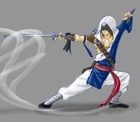 Monk Assassin by silverfox17x