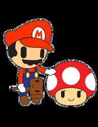 Mario Doki by silverfox17x