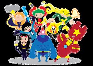 Marvel X One Piece