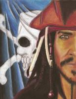 Jack Sparrow Art Project by silverfox17x