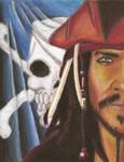Jack Sparrow Art Project