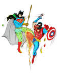 DC vs. Marvel Mix Up