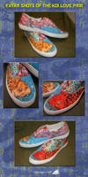 Koi Love Pair Shoes - Extra