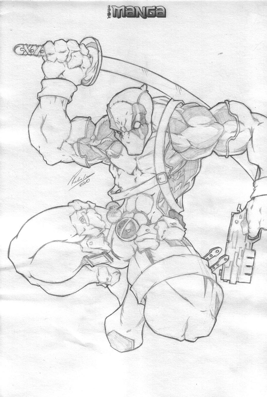 Deadpool by Przemo85