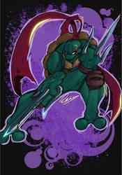 TMNT - Raphael color by Przemo85