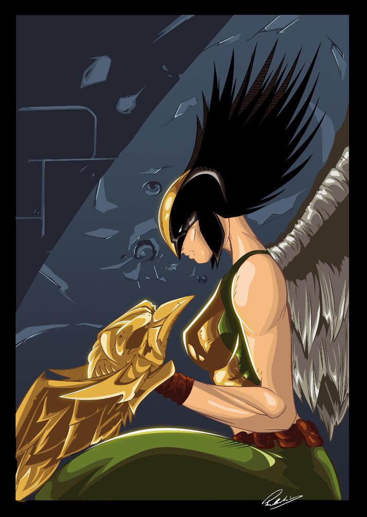 Hawkgirl by Przemo85