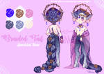 Braided Tails Auction CLOSED