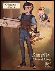 [GA] LAURELLE: THE CARPENTER [CLOSED]