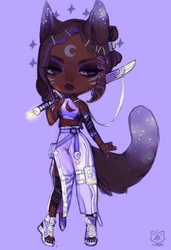[MYO] Dianesse    Lilac Warrior