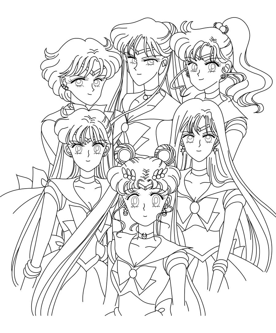 Coloring blank inners pluto by sailor jade iris on deviantart for Sailor moon group coloring pages