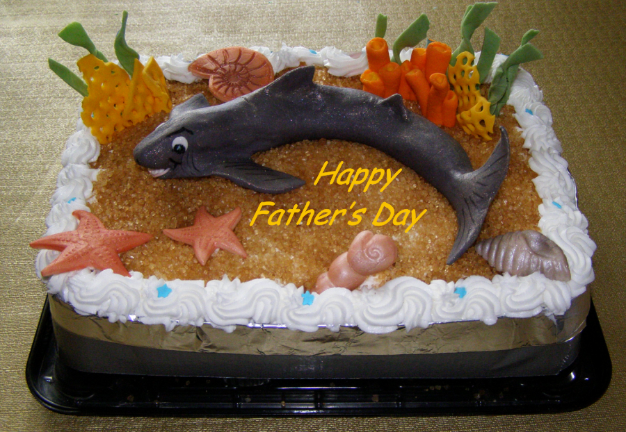 Father's Day Shark by Mar-a-thon