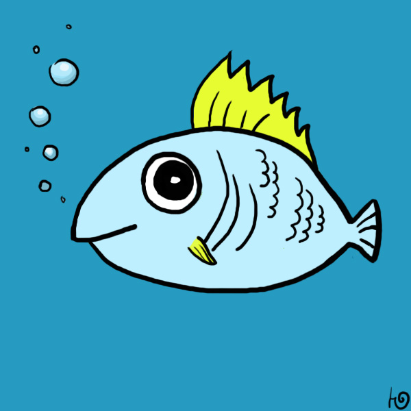 Cute Fish By J Grey On Deviantart