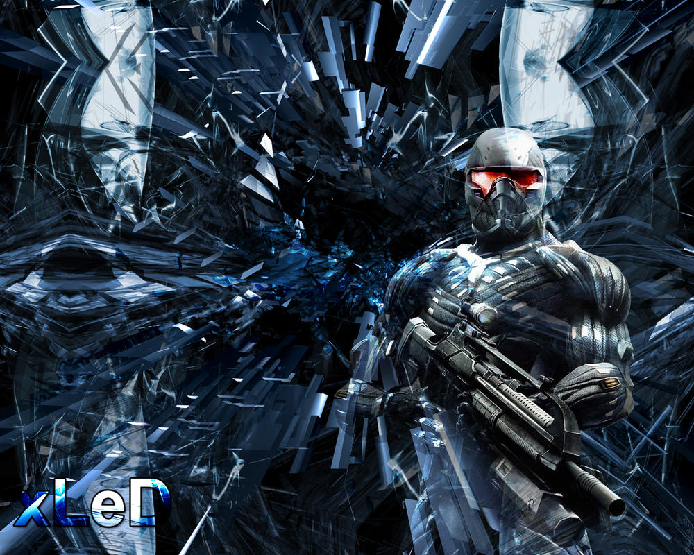 Crysis Wallpaper By XleD