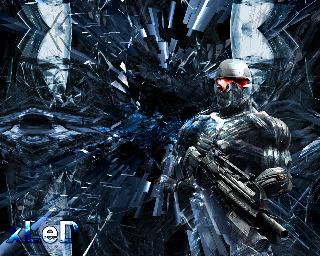 crysis wallpaper by xled on deviantart