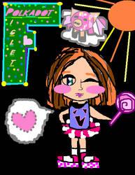Polkadot Piglet Girl by Polkadot-Piglet