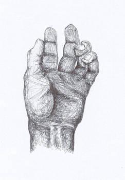 Scribble Hand Sketch