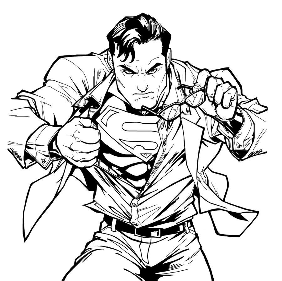Superman sketch NeMAfr...