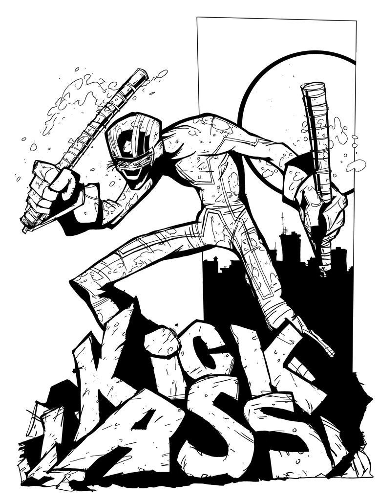 Kick Ass Drawings 20