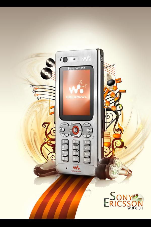 Sony Ericsson W880i by roxymanlol